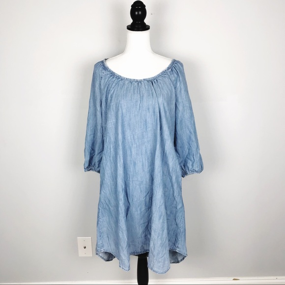 GAP Dresses & Skirts - Gap Denim Chambray Shift Dress